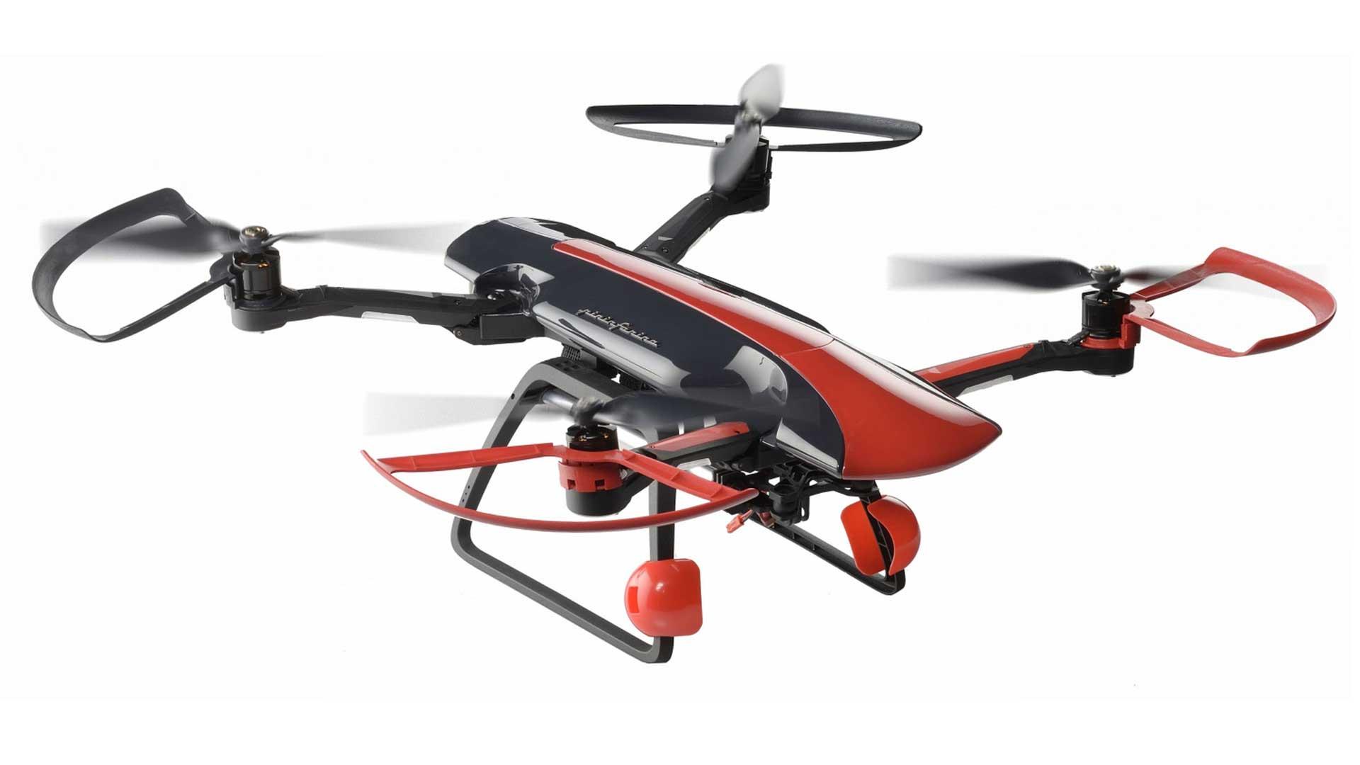 Sky Rider Drone il drone italiano vola a fascicoli  The Digeon