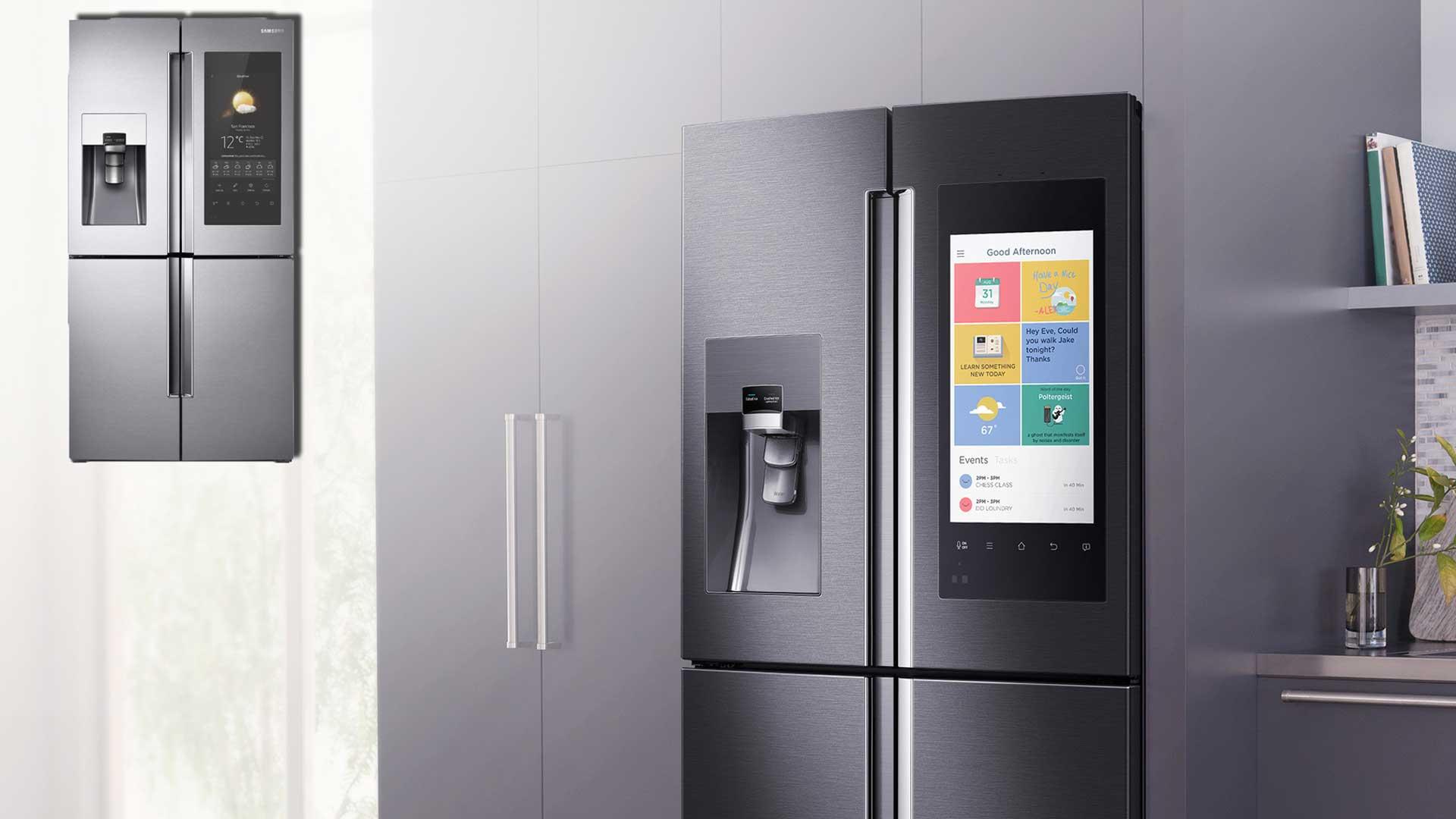 Samsung Family Hub il frigorifero  connesso  The Digeon