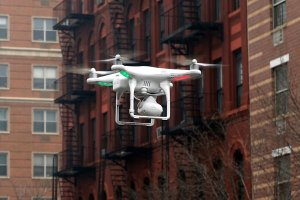 A camera drone in Manhattan. Lawmakers and the public have grown more vocal about the need for new regulations