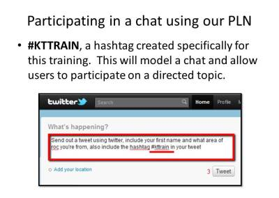 participate in a twitter chat