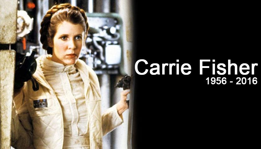 Carrie Fisher Fallece a los 60 años