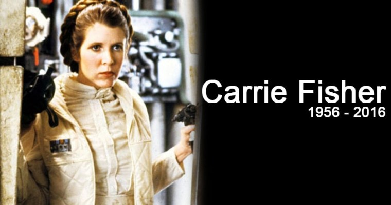 Carrie Fisher Fallece a los 60 años
