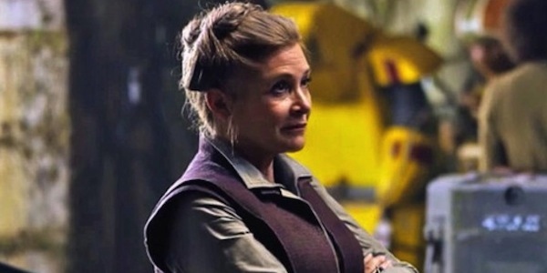Carrie Fisher culmino sus escenas para Star Wars: Episode VIII