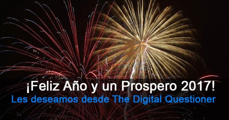Feliz Año Nuevo y un Próspero 2017