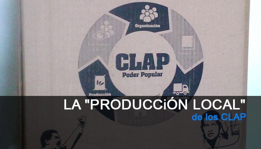 """La """"Producción Local"""" de los CLAP"""