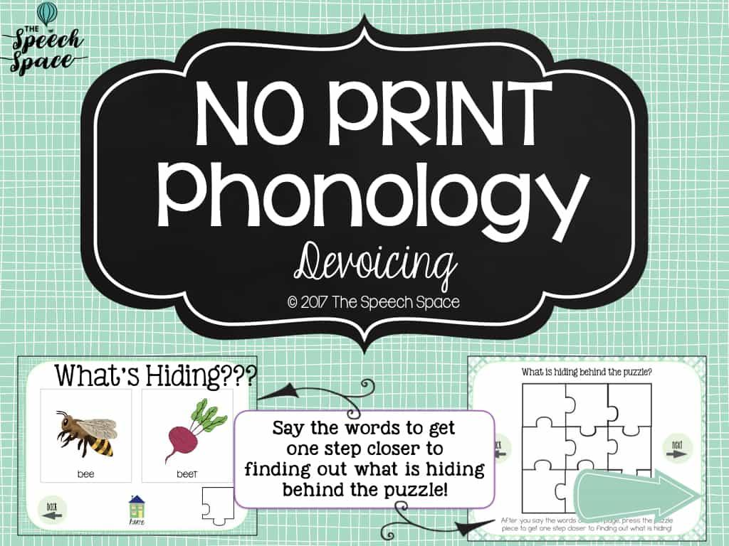 No Print Phonology Devoicing