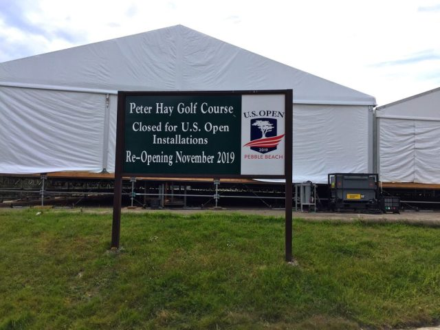 Pebble Beach US Open - Peter Hays Closed