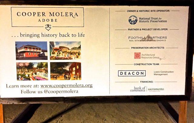 Cooper Molera Adobe Revitialization Project