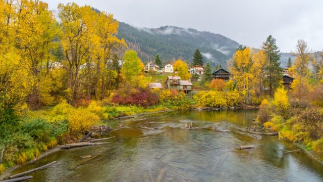 Leavenworth, Washington Wenatchee River