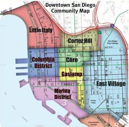 San Diego Downtown Neighborhoods