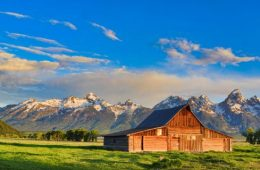 Grand Tetons Mormon Row Barn