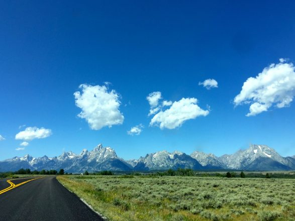 Teton Mountain Range, Wyoming