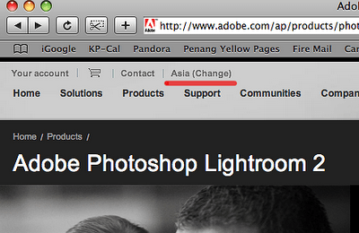 Out of the Box: Lightroom 2
