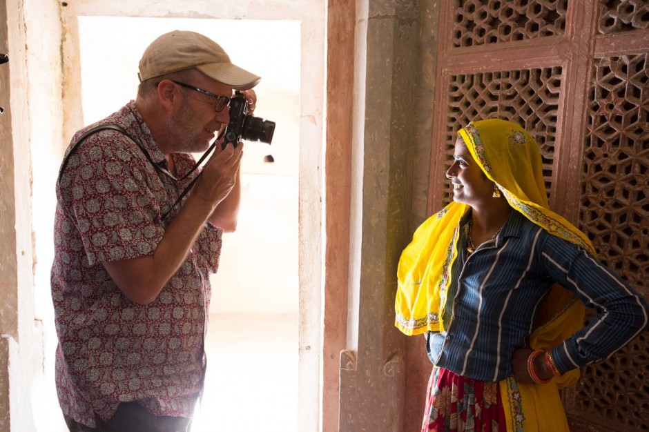 Me and my X-Pro1 in Rajasthan. Photo by Mike Alexander
