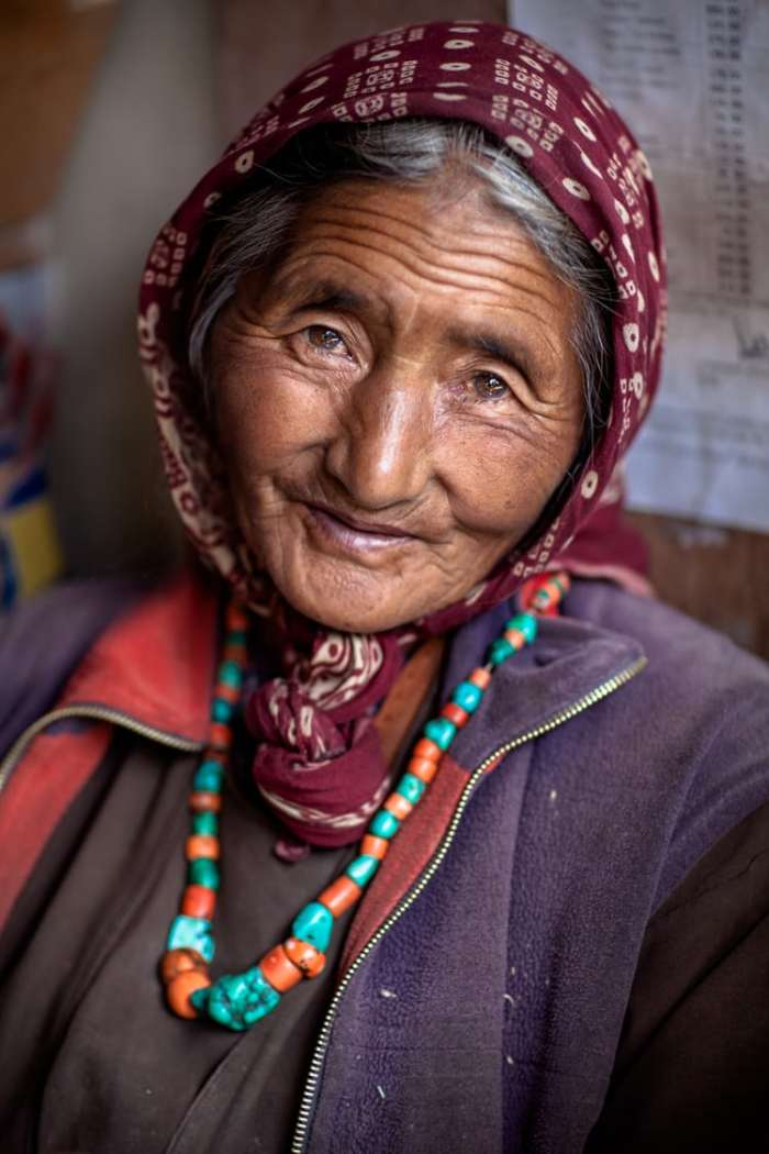 A Ladakhi Woman near Chemrai