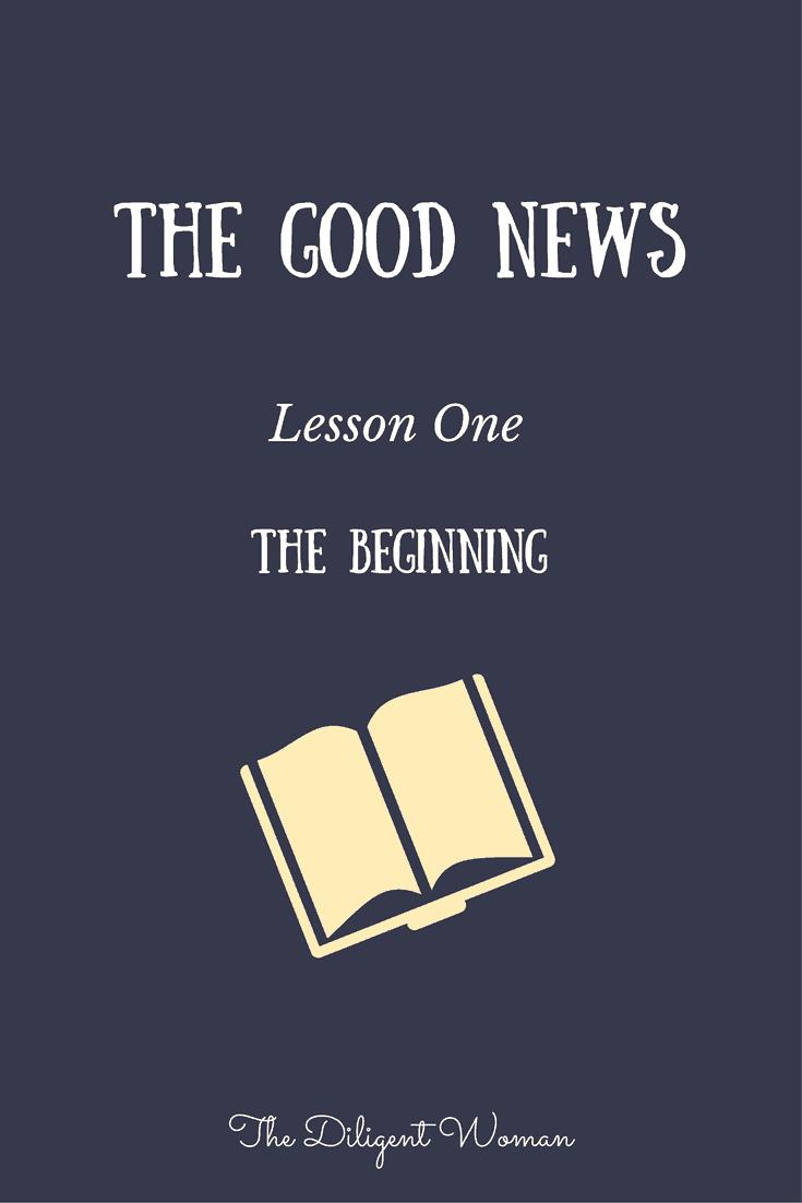 Jesus in the beginning