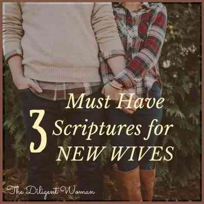 My Favorite Advice to New Wives
