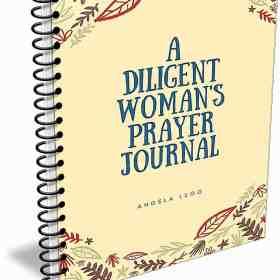 A Diligent Woman's Prayer Journal