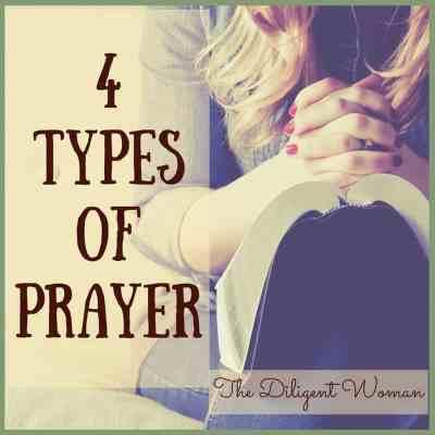 4 Types of Prayer