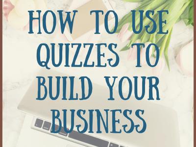 Business Building Tools – Quizzes
