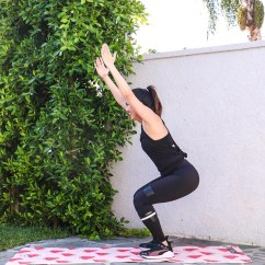 30 Minute Chair Workout For Seniors Steel Frame Suppliers A You Can Do Anywhere The Dimple Life I Ve Partnered With Propel Water And My Two Favorite Blogger Babes Whitney Rachael To Come Up Full Body Get