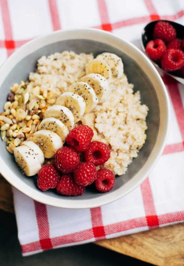 Creamy filling oatmeal recipe