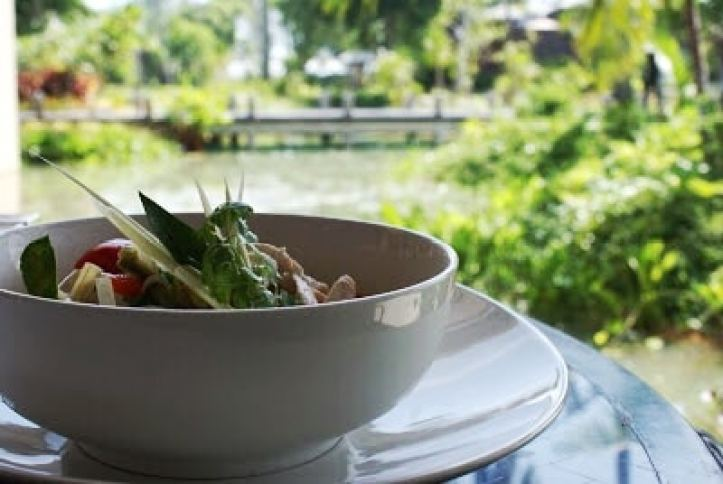 Thai Cookery Class Chicken in Coconut Milk, Anantara Phuket