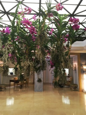 The Lobby at the Four Seasons Hotel Ritz Lisbon