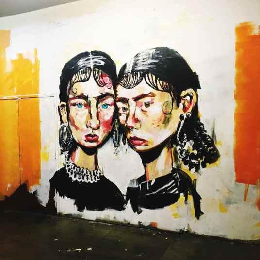 Cool Street art in Lisbon