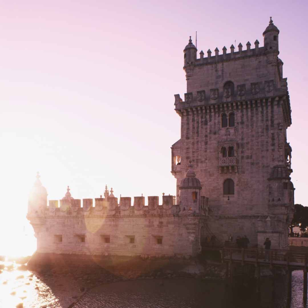 Belem Tower or the Torre de Belem - One of the top things to do in Lisbon, Portugal