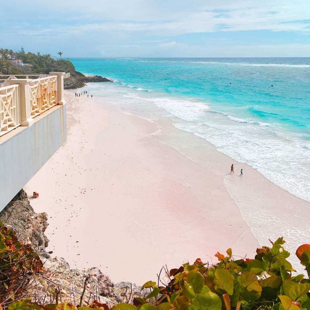 Crane Beach - Pink sand beach at The Crane Resort photo by Julianna Barnaby