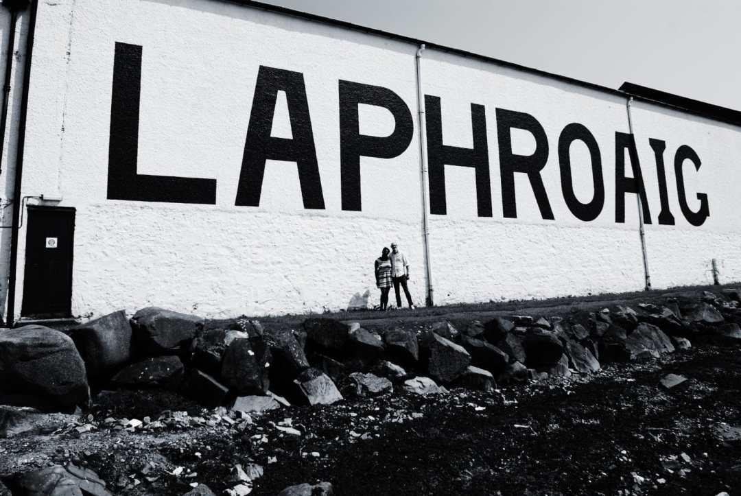 Laphroaig Distillery during Feis Ile