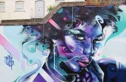 Mr Cenz Street Art Fashion Street Shoreditch