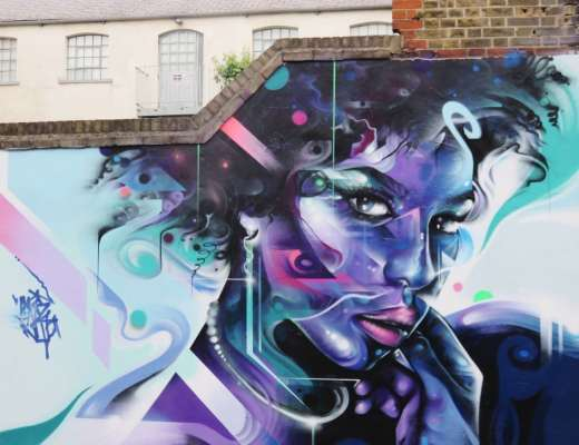 Mr Cenz Street Art Fashion Street Shoreditch