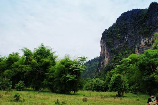 Landscape near Vang Vieng
