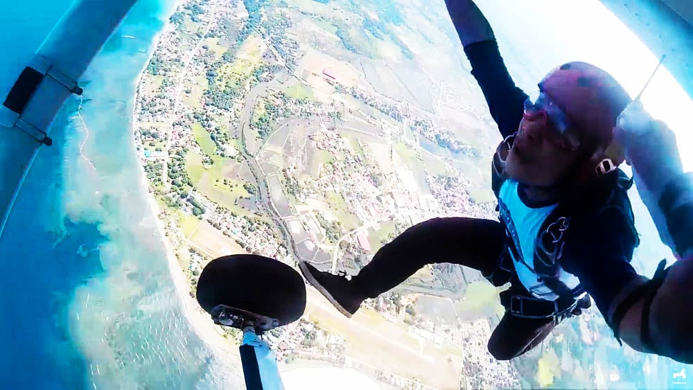 Skydiving the Philippines Adventure