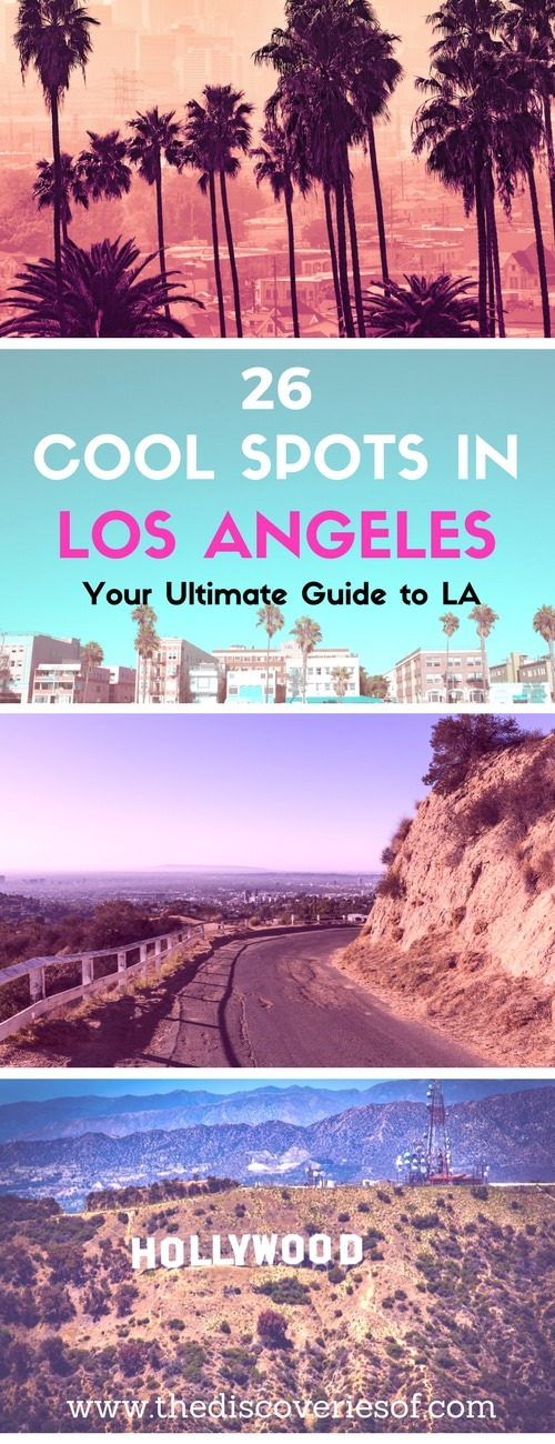 Los Angeles, LA, the City of Angels. Here's our pick of the coolest travel spots in LA that are too awesome to miss. From the best beaches, to food and nightlife, heres how to take on California in style. Read more