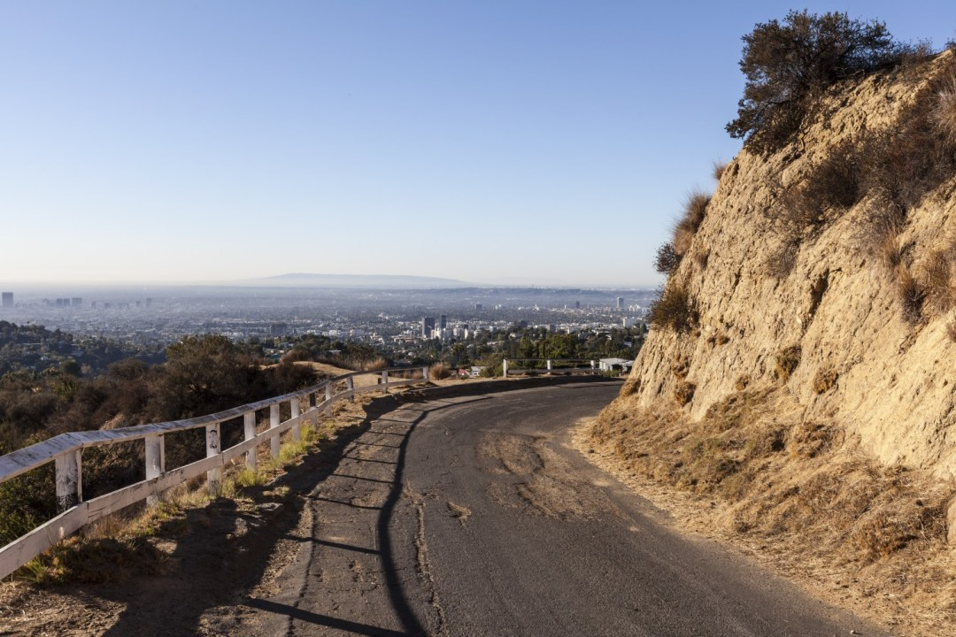 Mulholland Drive is such a cool place to see in Los Angeles for awesome views.