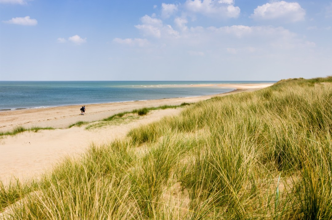 Winterton Beach in Norfolk is a stunning beach in the UK