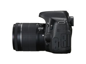 Canon EOS 750D Side View