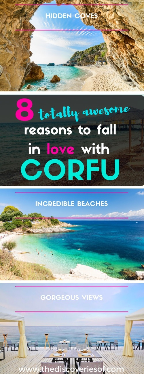 Corfu. 8 totally awesome reasons to fall in love with this beautiful island. Filled with things to do, beautiful beaches and incredible food - here's why you need a summer holiday to Corfu in your life this summer. Read more