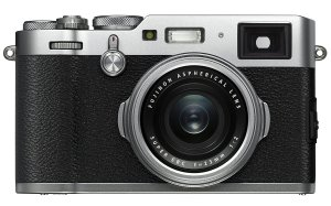 Fujifilm X100F Travel Compact Camera Front View