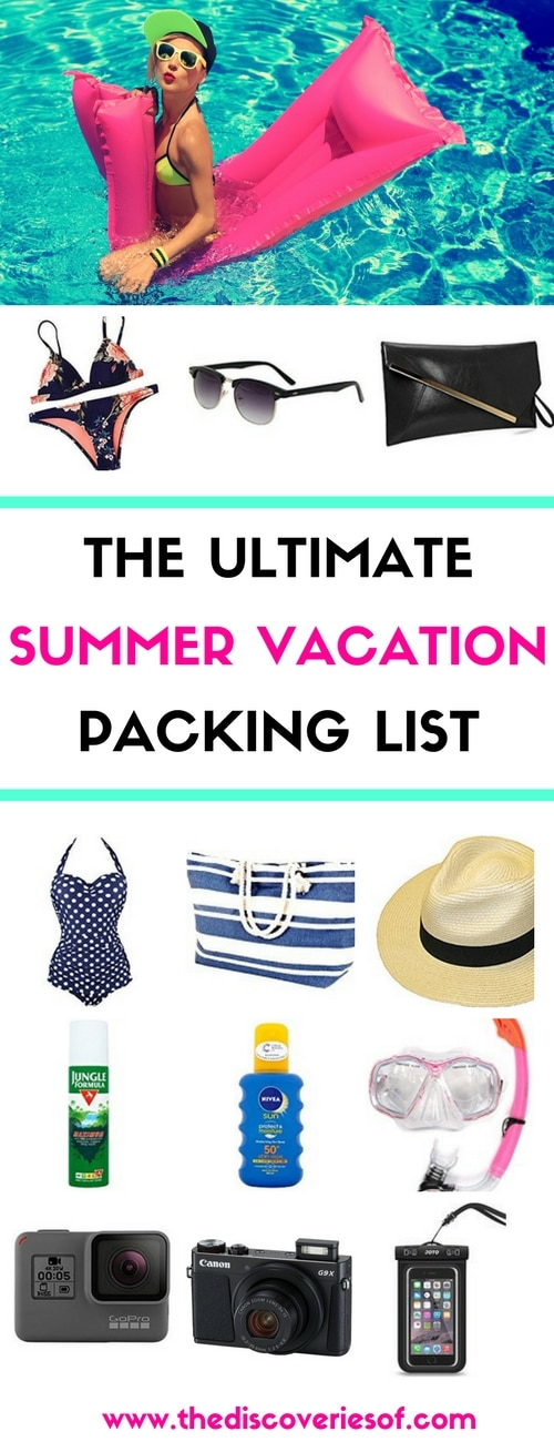 Heading on your summer vacation- Here's the ultimate packing list to make sure you look smart and stylish on the beach. Everything you need to have an awesome holiday. Read more.