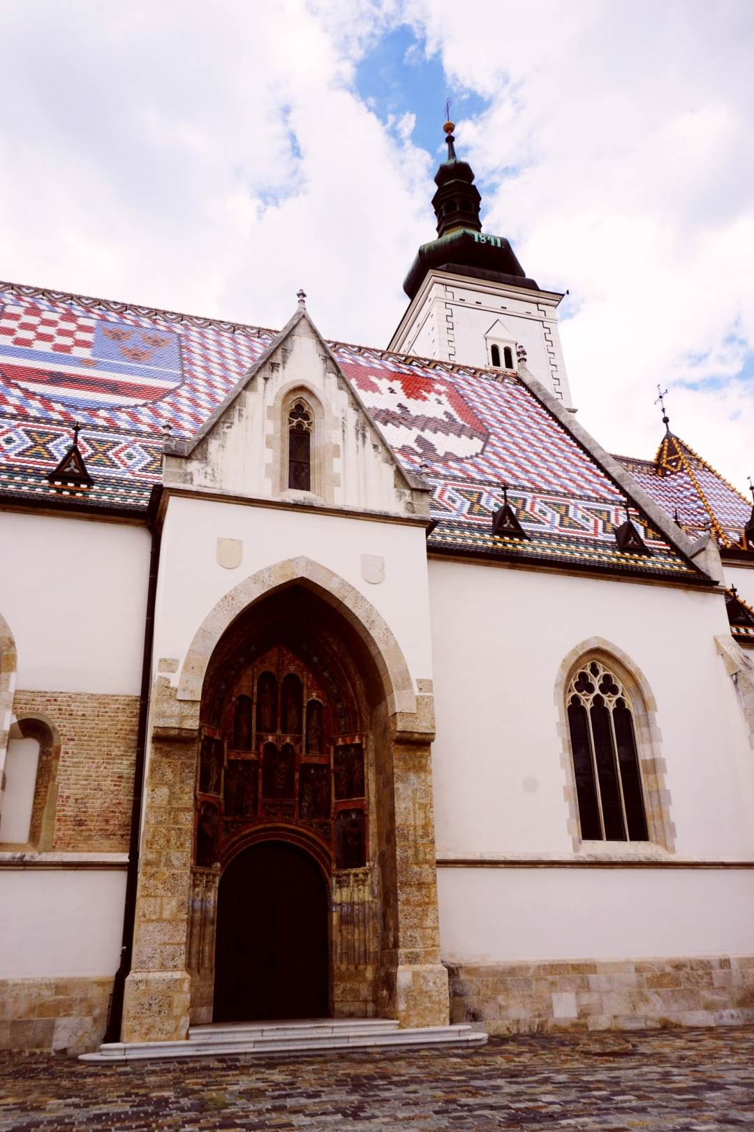 St Mark's Church should be at the top of your list of what to see in one day in Zagreb. Here's why.