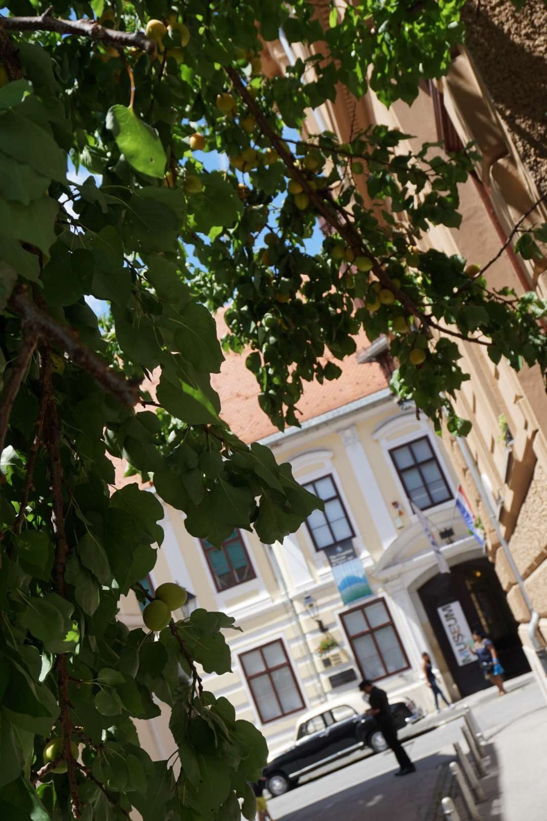 A peek at the Croatian Museum of Naive Art from across the road. Read the full Zagreb guide.