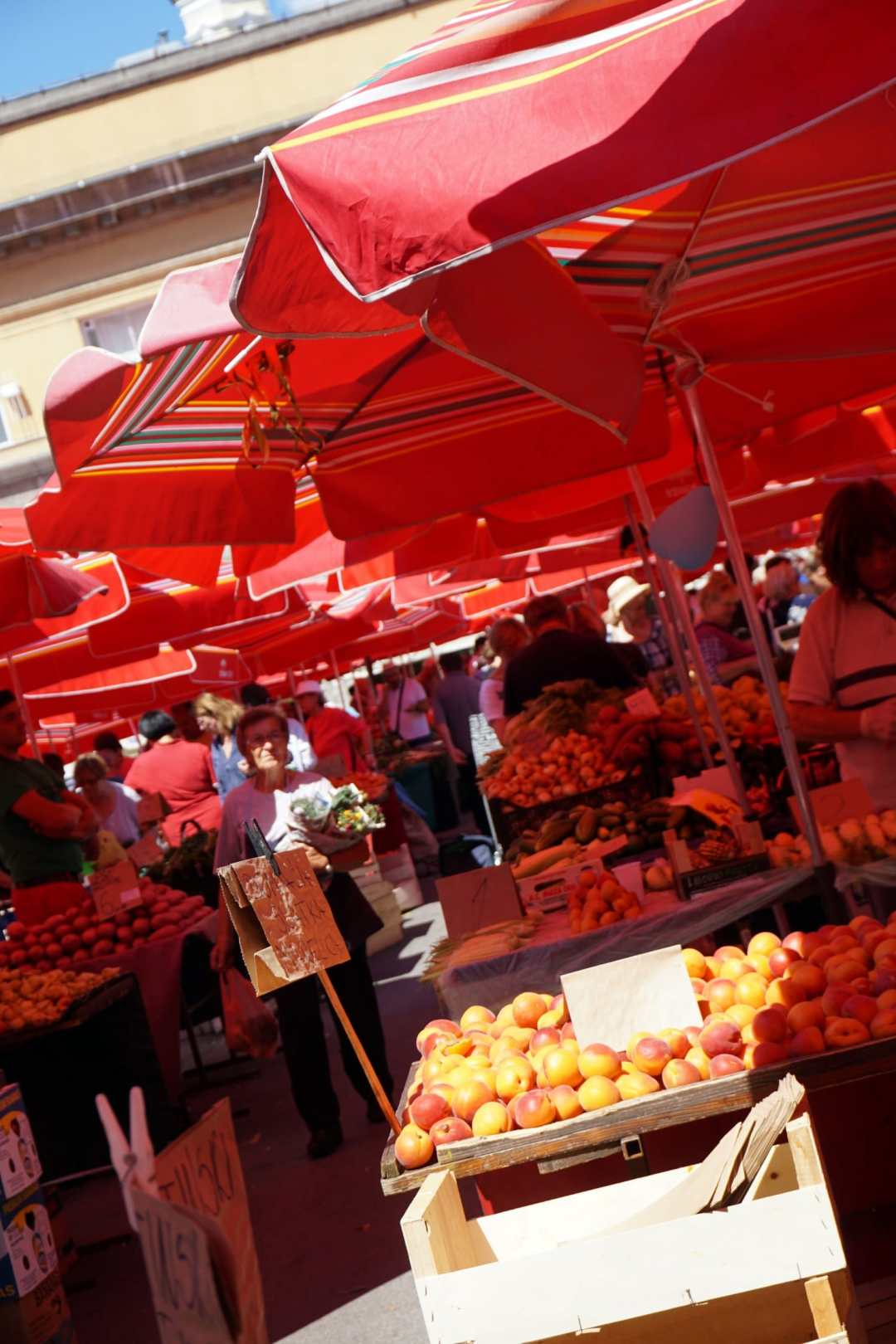 Zagreb's Dolak Market - So Many Awesome Reasons to go to Zagreb. Read more.