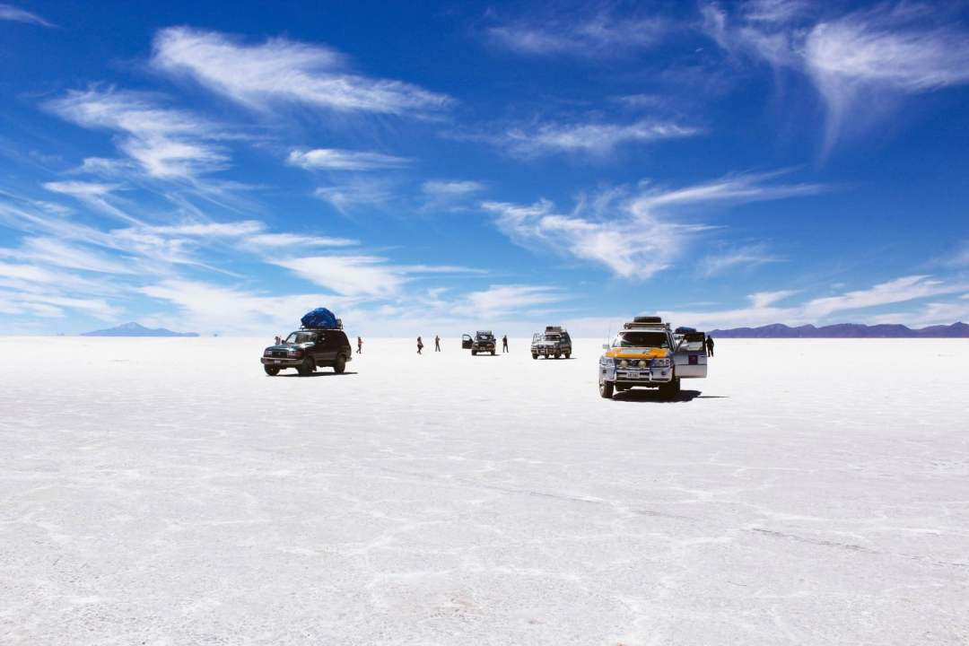 Salar de Uyuni in the Dry Season
