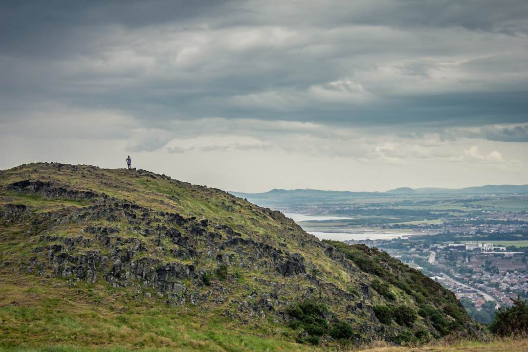 View from Arthur's Seat - 36 hours in Edinburgh. Read the full guide.