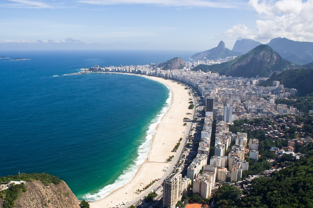 Copacabana is one of Brazil's most famous landmarks