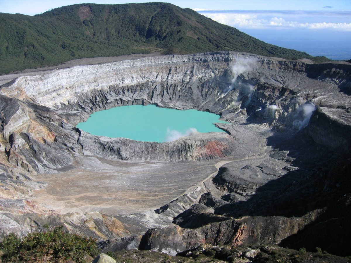 Hiking the Poas Volcano Costa Rica